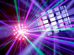 Visual and disco lighting hire Budapest
