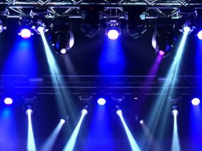 Visual and stage lighting hire Budapest