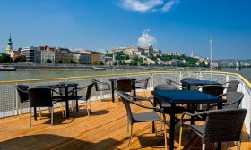 River Boat Panorama 1 - Budapest Danube Boat Cruise