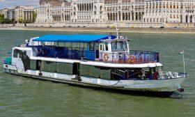 River Boat Panorama 2 - Budapest Danube Boat Cruise