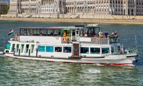 River Boat Panorama 6 - Budapest Danube Boat Cruise