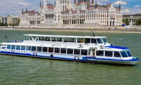 River Boat Panorama 9 - Budapest Danube Boat Cruise