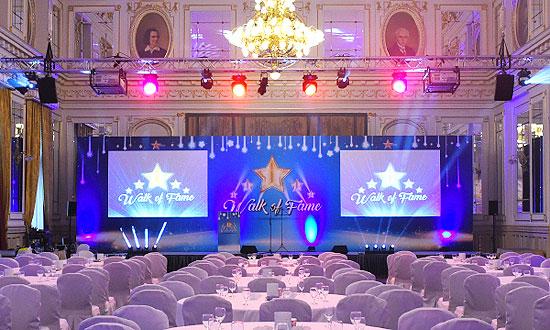 AV hire Budapest for events