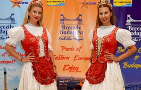 Danube river cruise Budapest with folk show