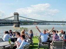 Employee party, Danube river cruise Budapest