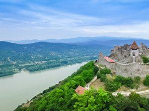 Boat tours on river Danube